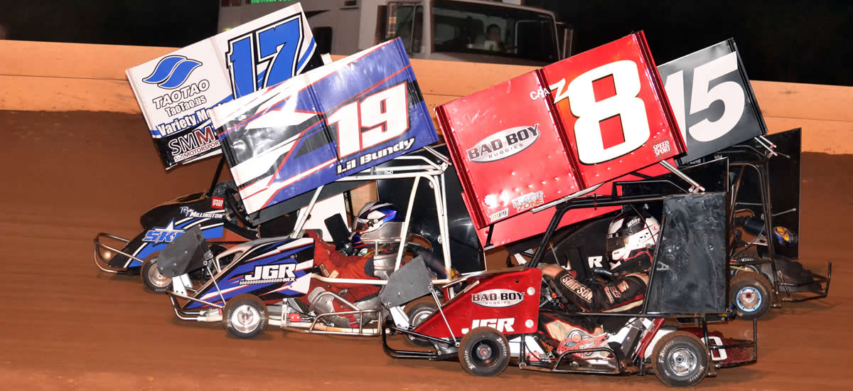 Watch Larson & Outlaw Kart Stars Wednesday on Speed51 TV FREE