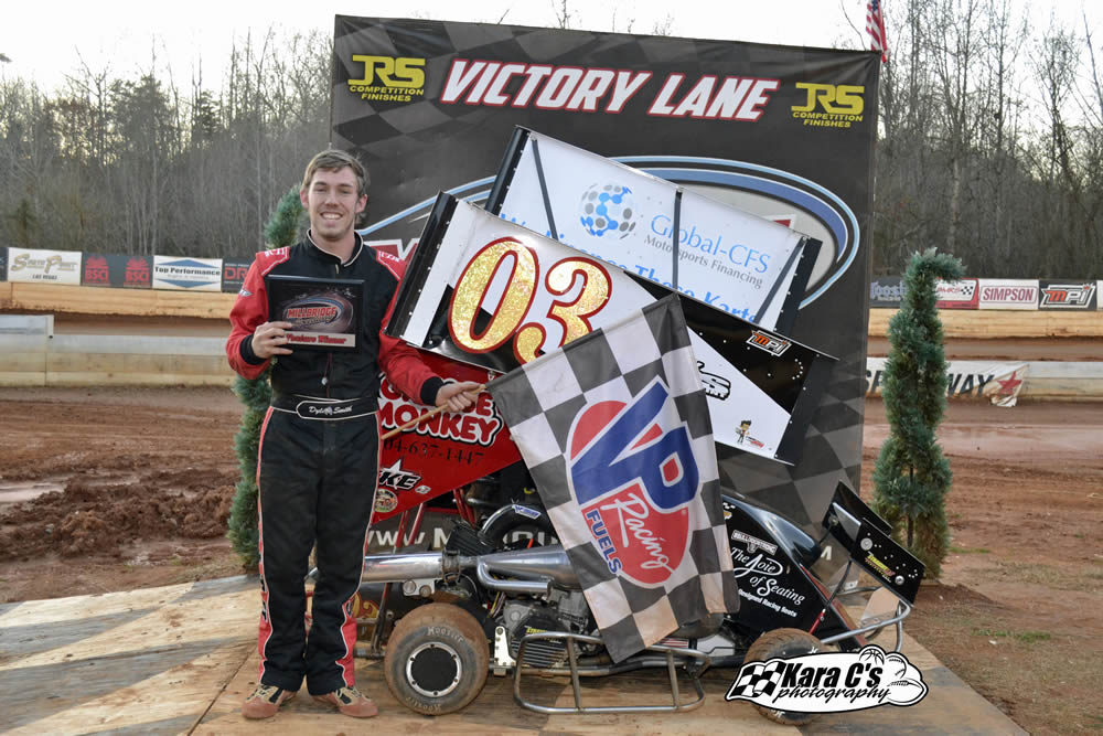 Dylan Smith Takes Winter Series Race #2
