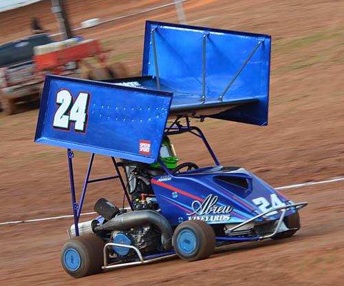 Rico Gunning for QRC Speed51 Open Win at Millbridge